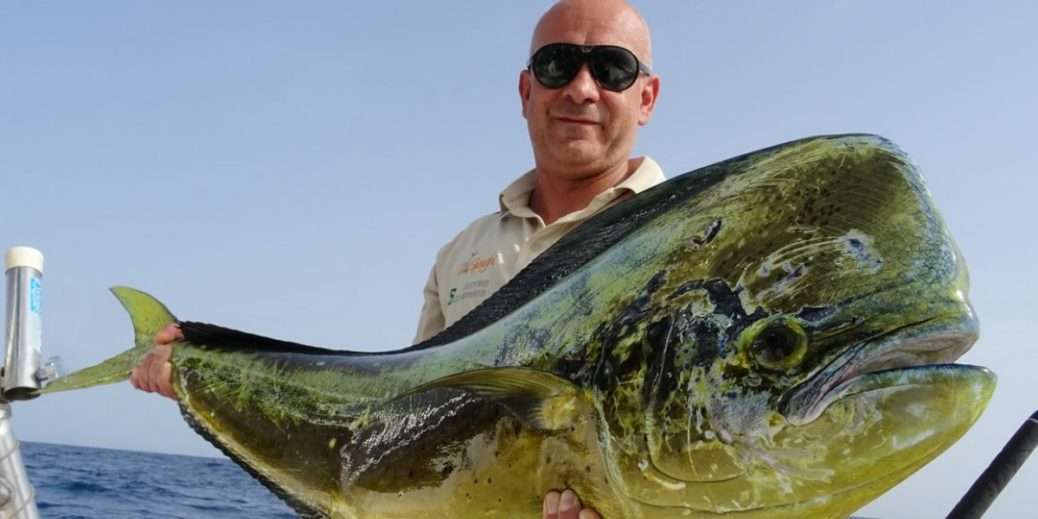 Grossa lampuga a pesca Big Game Maio