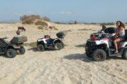Maio visita alle dune in Quad