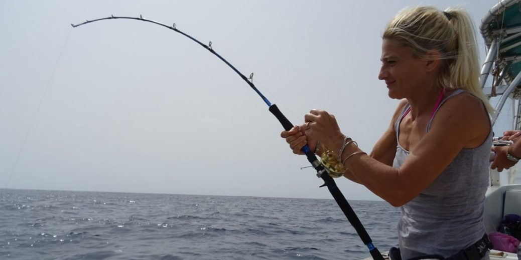 combattimento a pesca Big Game Maio