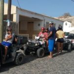 partenza in quad Maio